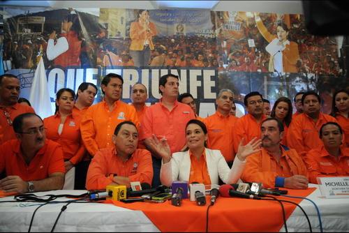 El Partido Patriota fue multado y suspendido por realizar campaña anticipada en 2014. (Foto: Archivo/Soy502)