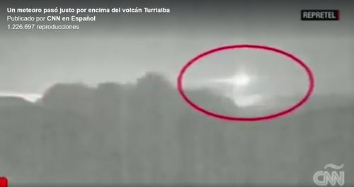 Foto extraída del video publicado por CNN en Costa Rica .