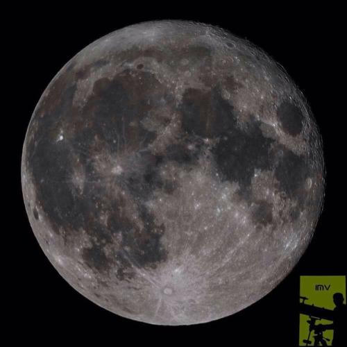 La Superluna. (Foto: Israel Monterroso Villatoro)