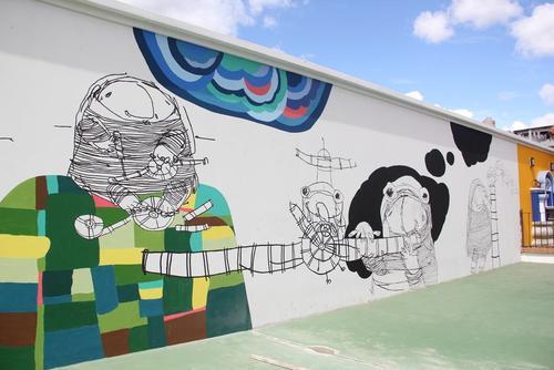 Las nuevas instalaciones del centro educativo fueron inauguradas en enero de 2015. (Foto: Fredy Hernández/Soy502)