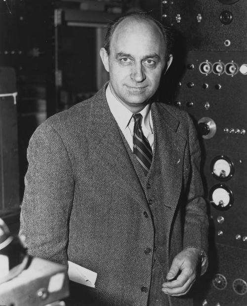 Enrico Fermi, Premio Nobel de Física de 1938. (Foto: Cortesía Edgar Castro Bathen).
