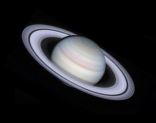 Esta foto de Saturno también es de Damian Peach, astrofotógrafo inglés. (Foto: Cortesía Edgar Castro Bathen)