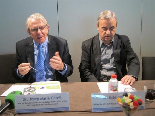 Los médicos Gatell y Ribera destacaron la importancia de la inmediata medicación de personas VIH positivas. (Imagen: europapress.es)