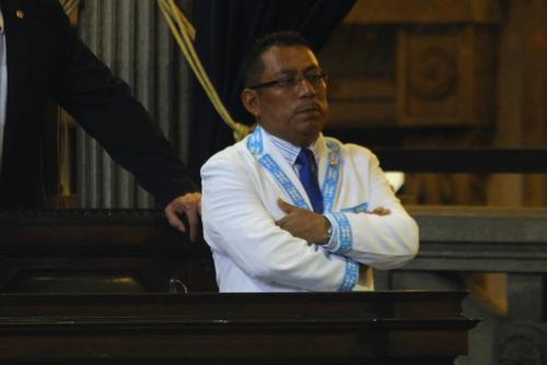 El jefe del bloque Alianza Ciudadana, Francisco Tambriz, denunció al Ministro de Agricultura. (Foto: Archivo/Soy502)