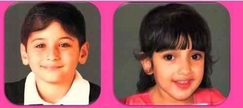 Roberto José y María Mercedes tenían 7 y 3 años cuando ocurrieron los hechos.