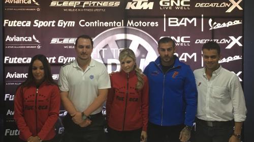 Representantes de Futeca Sport Gym y Continental Motores explicaron la dinámica de la competencia.