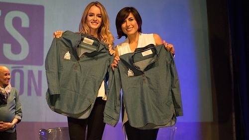 La cantautora Stephanie Zelaya y la alpinista Andrea Cardona son las nuevas embajadoras de Funsepa para el 2016. (Foto: Funsepa)