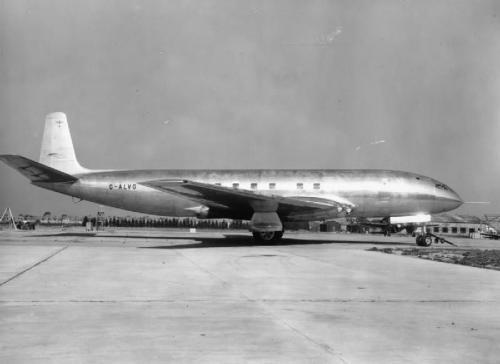Este es el Comet. Es el primer avión a reacción del mundo. (Foto: Wikipedia)