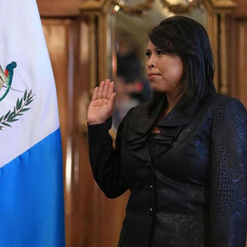 Ana Verónica García Segura fue la última Secretaria Privada de Otto Pérez Molina y está por recuperar su plaza 011 en el Congreso. (Foto: Gobierno de Guatemala)