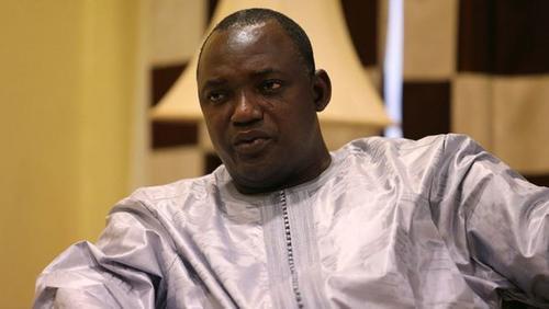 Adama Barrow, presidente electo de Gambia. (Foto: Infobae)