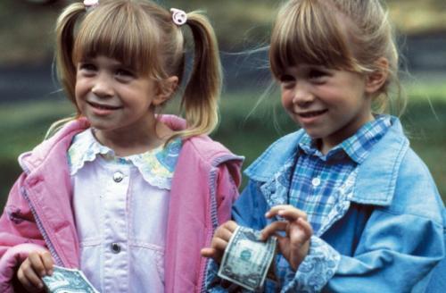 Las gemelas formaron parte del elenco de Full House. (Foto: Archivo)