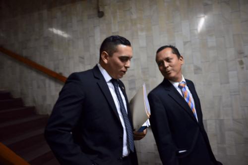 El pasado lunes Giordano acudió a la Torre de Tribunales a presentar sus pruebas de descargo ante los señalamientos del MP. (Foto: Archivo/Soy502)