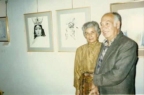 Roberto González Goyri junto a su esposa, Carmen Pérez Avendaño, con quien compartió más de 50 años de su vida. (Foto: Asociación González Goyri)