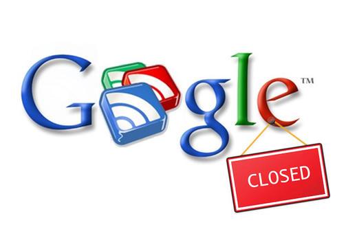 El 1 de julio de 2013, Google apagó los servidores de Reader.