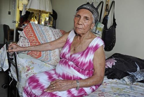 Maria Altagracia Vásquez de 93 años.