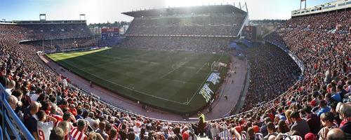 En este escenario se jugará. Atlético de Madrid ante Real Sociedad. (Foto: Twitter)