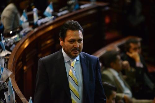 El expresidente del Congreso niega haber sustraído el patrimonio del Congreso. (Foto: Archivo/Soy502)