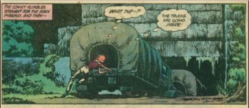 La selva era el centro de operaciones de los rebeldes. (Foto: DC Comics)