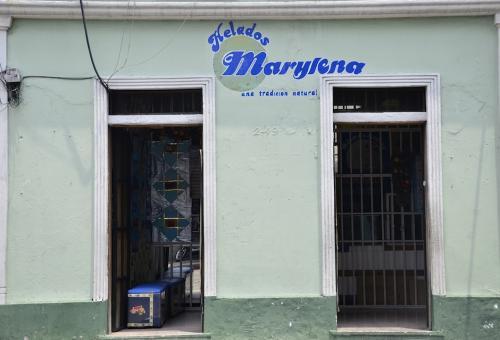 Helados Marylena queda en la 6a. calle 2-49, zona 1. No te pierdas sus sabores. (Foto: Selene Mejía/Soy502)