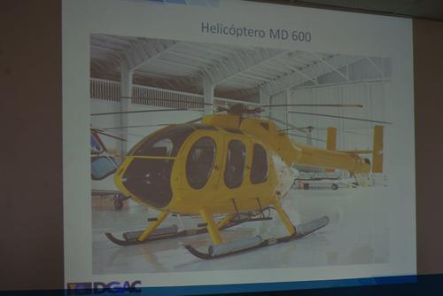 Esta es la imagen ilustrativa del tipo de helicóptero que se accidentó, un MD 600. (Foto: DGCA)