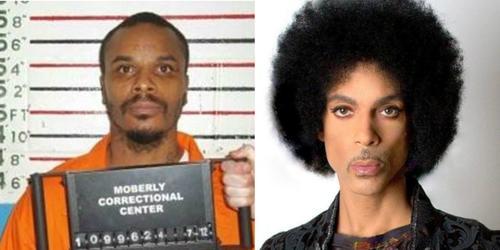 El hombre de 39 años quién se encuentra en prisión afirma ser hijo del legendario Prince. (Foto: CNN)