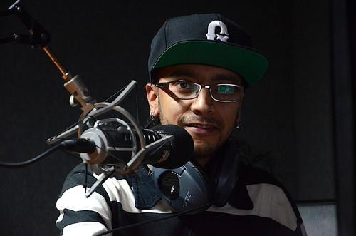 Dj Fla-K.O. es representante del hip-hop nacional, productor, integrante de La Bacteria Soundsystem Crew y Dj. (Foto: Selene Mejía/Soy502)