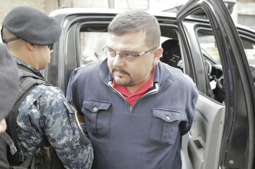 Hugo Enrique Morales fue capturado por el delito de lavado de dinero. (Foto: Alejandro Balán/Soy502)