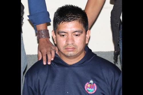 Francisco Antonio Pirir García el día de su captura el 30 de septiembre de 2015. (Foto: Archivo/Soy502)