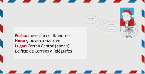 Las Cartas serán contestadas antes del 25 de diciembre.