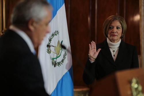 La Procuradora General de la Nación, María Eugenia Villagrán, advierte que el pacto colectivo del Congreso contiene varias ilegalidades. (Foto: Archivo/Soy502)