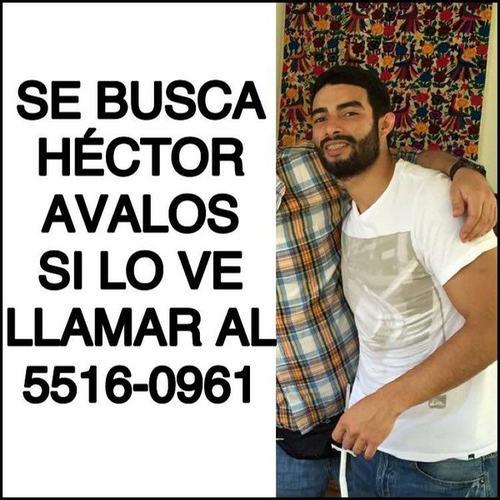 La familia también ha invitado a usuarios de las redes sociales a compartir la imagen de Héctor para dar con su paradero.