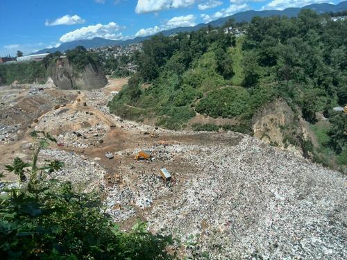 Vista de uno de los sectores del basureo municipal zona 3, donde se localizaron restos del actor Monterroso.