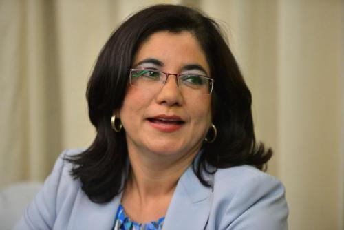 La ahora jueza Claudia Escobar renunció a la designación como magistrada de Cortes de Apelaciones en el pasado proceso, debido a irregularidades que denunció. (Foto: Archivo/Soy502)