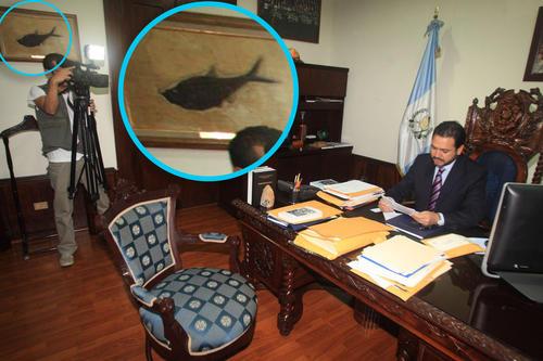 El fósil que desapareció del Congreso estuvo en el despacho de Gudy Rivera. (Foto: Congreso)