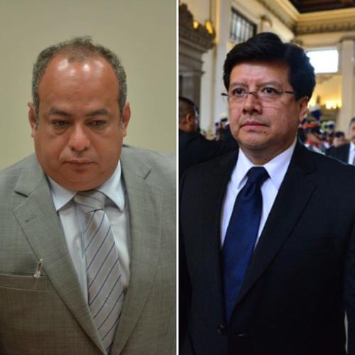 Mario Ruano fue capturado y ligado a proceso, mientras el magistrado Douglas Charchal perdió su inmunidad. (Imagen: Soy502)