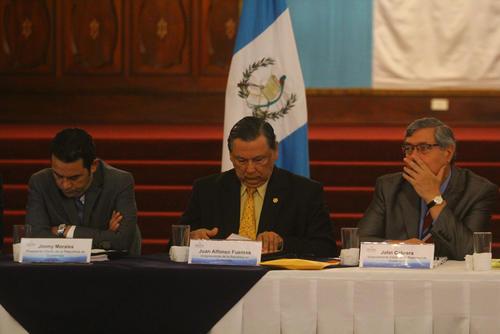 Morales indicó que continuará con el programa del actual Gobierno. (Foto: Alexis Batres/Soy502)