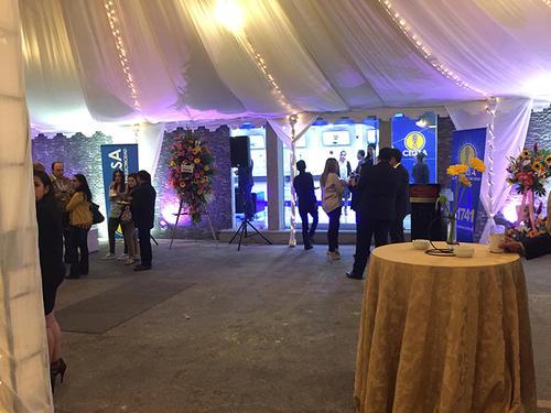 El pasado 2 de marzo se inauguró la sala de ventas vanguardista. (Foto: cortesía)
