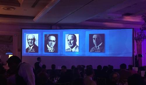 Fundadores del Club Rotario en Guatemala.