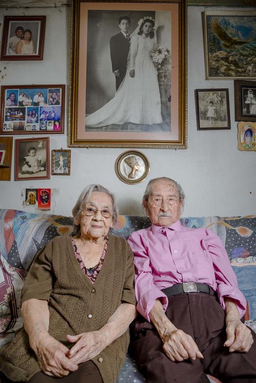 El matrimonio Méndez Zúñiga lleva 70 años de recorrido. (Foto: George Rojas/Soy502)