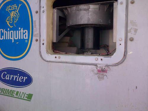 La droga estaba escondida en contenedores con carga de banano proveniente de Ecuador. Foto:Soy502