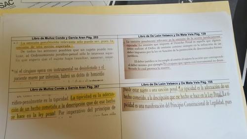Los textos señalados pueden ser copias literales o parafraseadas, pero no sin cita bibliográfica.