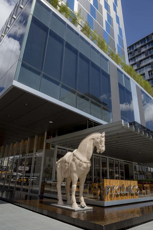En la cultura asiática, los caballos representan fuerza. (George Rojas/Soy502)