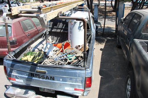 Este es uno de los dos transformadores que fueron robados por los siete arrestados. (Foto:PNC)