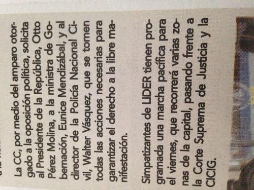 Según el diario La Nación, se espera que los simpatizantes realicen diversas concentraciones este viernes en la capital.