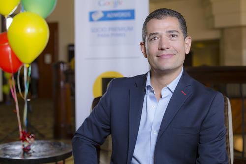 Juan Fernando Díez, CMO para Publicar a a nivel regional, expuso la importancia de contar con el respaldo del gigante Google. (Foto: George Rojas /Soy502)