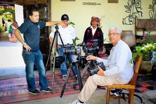 La conducción estuvo a cargo de la prestigiosa periodista y Embajadora de Turismo de Guatemala Mildred Espinoza  y el presentador mexicano Eliot Saenz.  Foto INGUAT