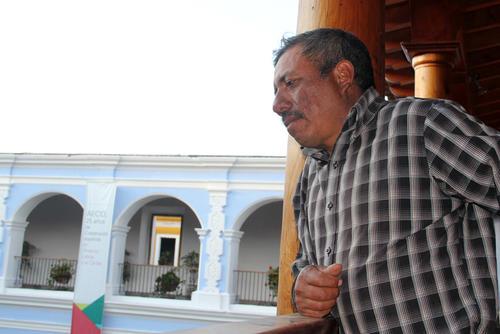 Florencio Hernández aún tiene esperanza de regresar a trabajar a Estados Unidos para pagar la deuda de su primer viaje. (Foto: Luis Barrios/Soy502)