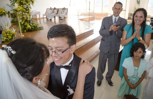 Matrimonio Ríos Solís: el amor no tiene fronteras. (Foto: George Rojas/Soy502)