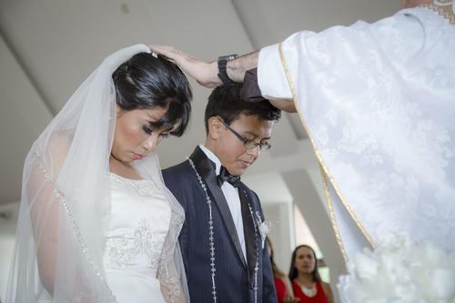 Javier cumple su último deseo: casarse con la mujer que ama. (Foto: George Rojas/Soy502)