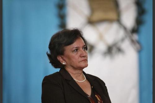 La procuradora confirmó la reunión mantenida con las partes involucradas y el presidente Morales. (Foto: archivo/Soy502)